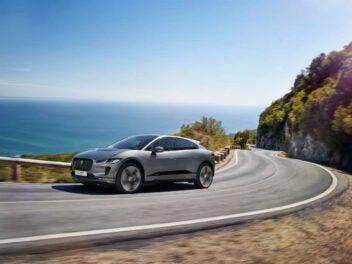 Jaguar I-Pace 2021 Fahrt