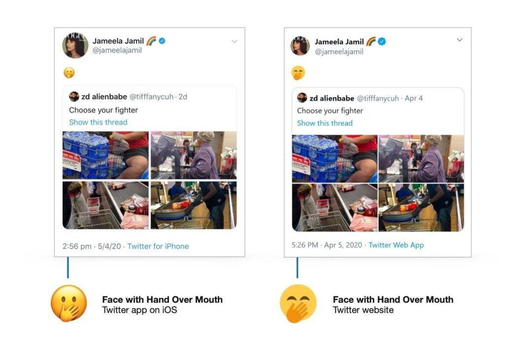 """""""Gesicht mit offenem Mund""""-Emoji kann zu Verwirrungen führen"""