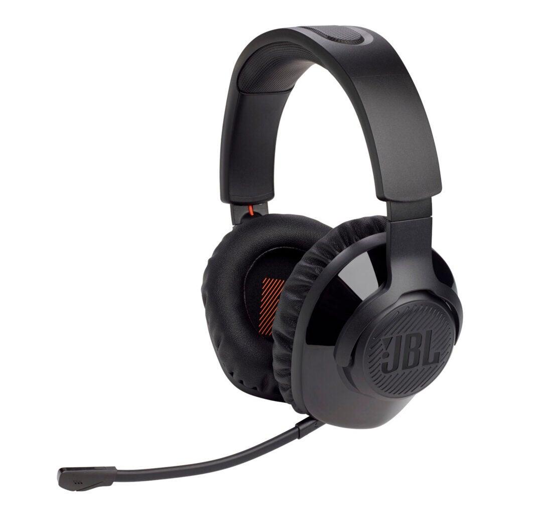 Das Quantum 350 Wireless Gaming-Headset mit abnehmbarem Mikrofon