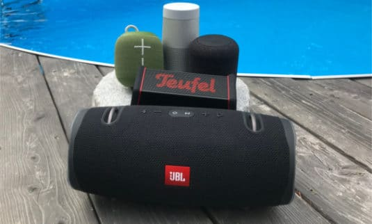 Jbl Xtreme 2, Teufel Rockster XS, Bose Soundlink Revolve, Ultimate Ears Wonderboom, Soundcore Motion Q, Bluetooth, Lautsprecher