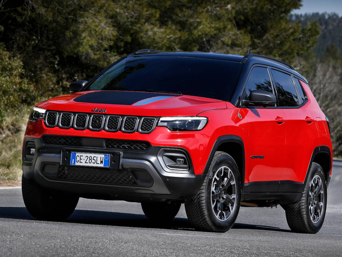 Jeep Compass (2021) Trailhawk 4xe Front