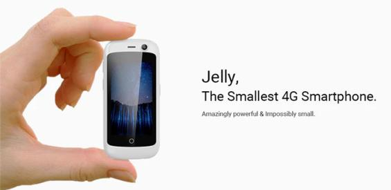 Jelly kleinstes Android-Smartphone