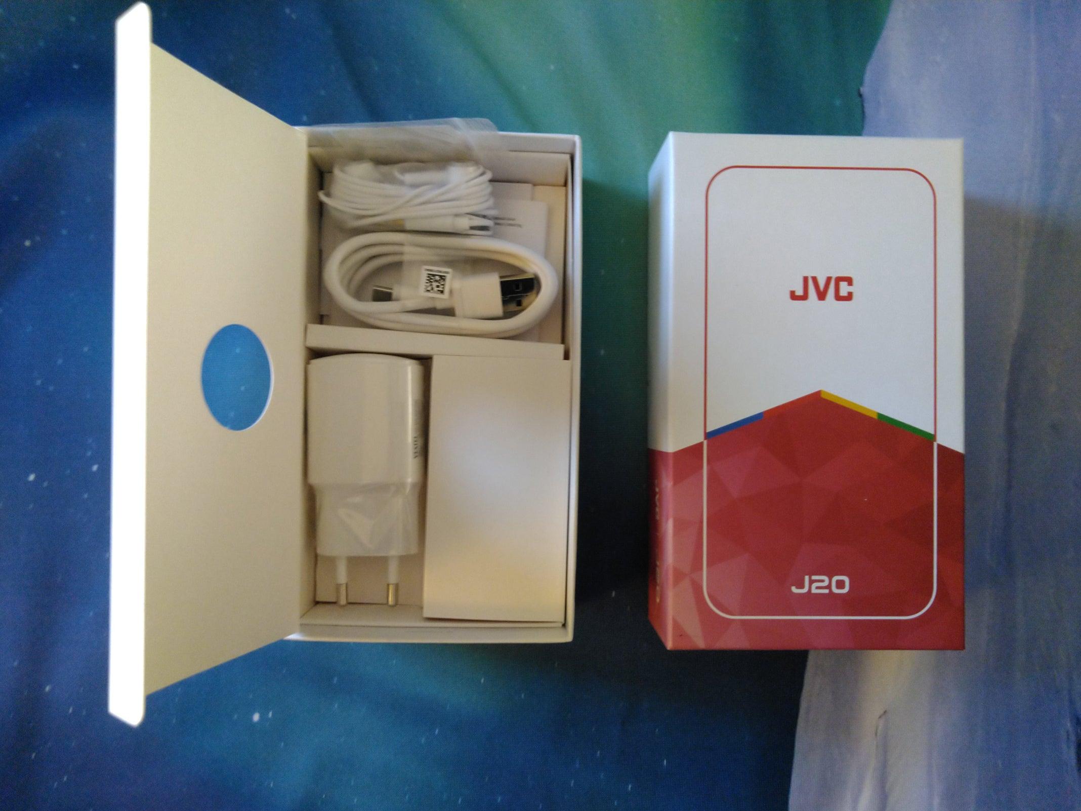 Verpackung des JVC J20