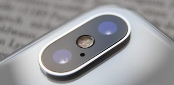 Kamera des Apple iPhone X