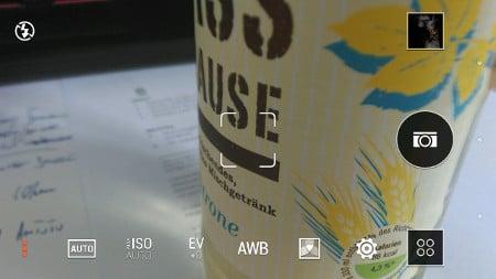 Kamera des HTC One mini 2