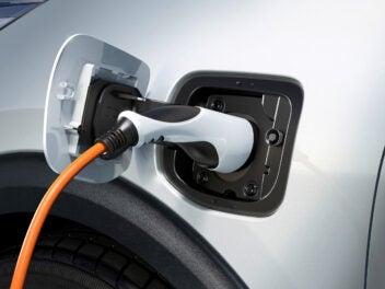 Plug-in-Hybrid-Anschluss am Kia Niro