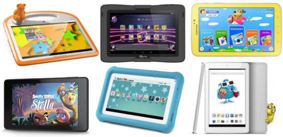 Kinder-Tablets Archos Medion Samsung Kurio Amazon Odys