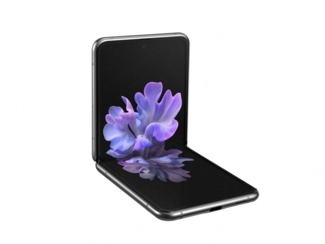 Geklapptes Samsung Galaxy Z Flip 5G