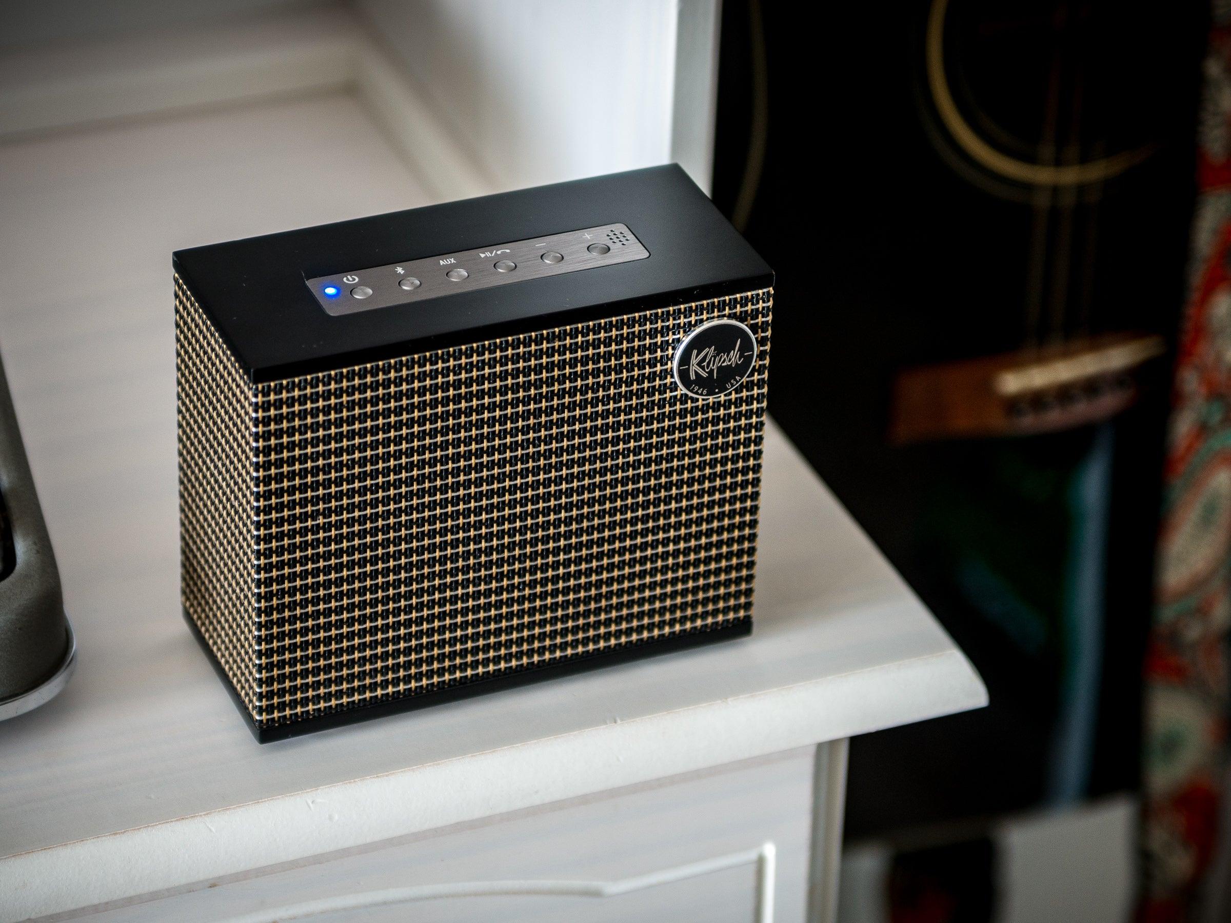 Klipsch-Heritage-Groove-Bluetooth-Lautsprecher-mit-ikonischem-Design-im-Test