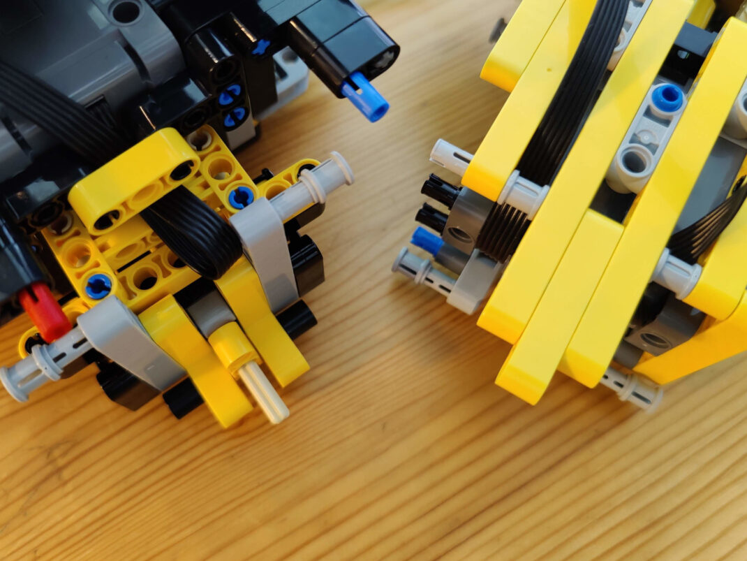 Knickgelenk des Lego Technic Volvo Dumper 42114
