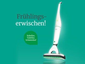 """Vorwerk-Banner """"Frühlings-Erwischen"""""""