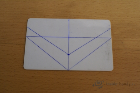 Kredit- bzw. Videothek-Karte Schritt 4