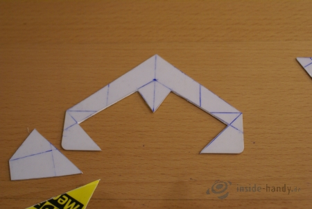 Kredit- bzw. Videothek-Karte Schritt 9