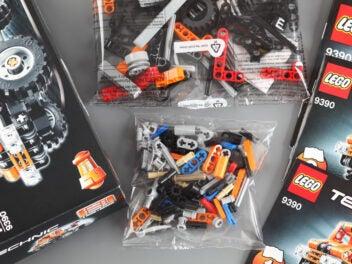 Lego Technic Bausatz ausgepackt
