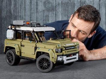 Land Rover Defender von Lego Technic