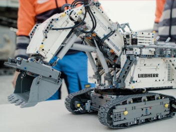 Lego Technic Bausatz Liebherr Bagger