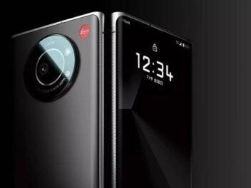 Leica Leitz Phone 1 Vorderseite und Rückseite