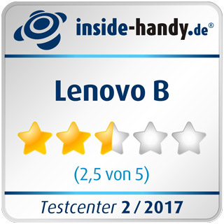 Testsiegel des Lenovo B