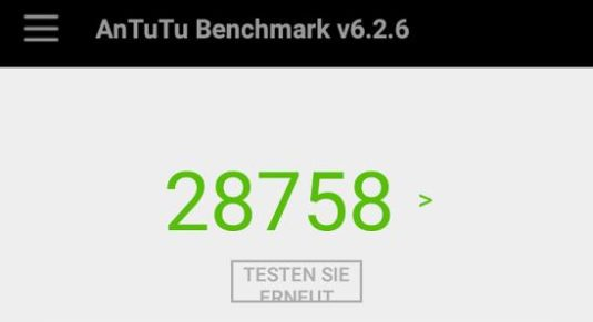 Lenovo Moto g4 Play Benchmark-Test