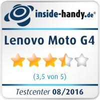 Lenovo Moto G4 Testsiegel