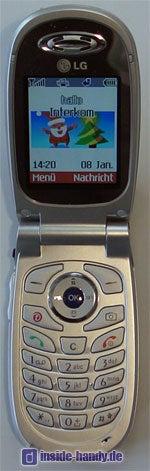LG C2200 : Innenansicht