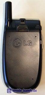 LG C2200 : Rückseite
