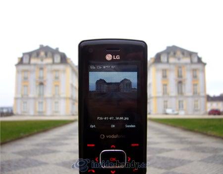 LG Electronics Chocolate UMTS: beim Fotografieren