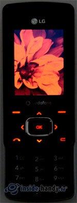 LG Electronics Chocolate UMTS: Beleuchtung