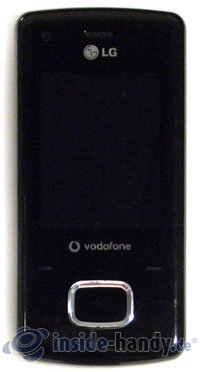 LG Electronics Chocolate UMTS: Display