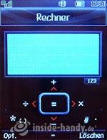 LG Electronics Chocolate UMTS: Rechner