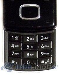 LG Electronics Chocolate UMTS: Tastatur