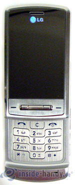 LG Electronics KE970: Draufsicht