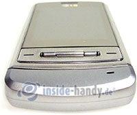 LG Electronics KE970: Draufsicht unten