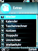 LG Electronics KE970: Extras