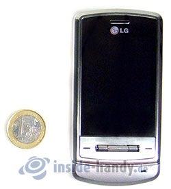 LG Electronics KE970: Größenverhältnis