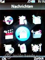 LG Electronics KE970: Hauptmenü