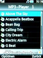 LG Electronics KE970: MP3-Player