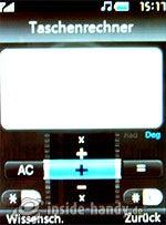 LG Electronics KE970: Taschenrechner