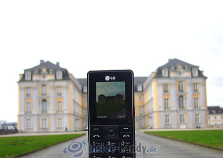 LG Electronics KG320S: beim Fotografieren