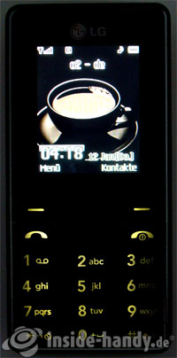LG Electronics KG320S: Beleuchtung