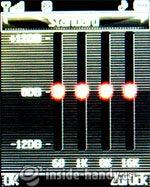 LG Electronics KG320S: Equalizer