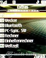 LG Electronics KG320S: Extras