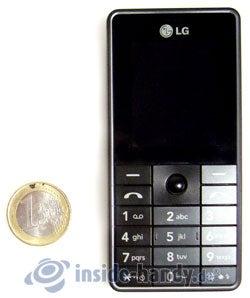 LG Electronics KG320S: Größenverhältnis