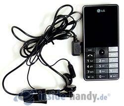 LG Electronics KG320S: Headset