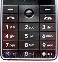 LG Electronics KG320S: Tastatur