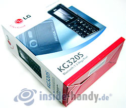 LG Electronics KG320S: Verpackung