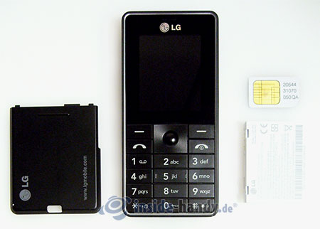 LG Electronics KG320S: zerlegt in Bestandteile