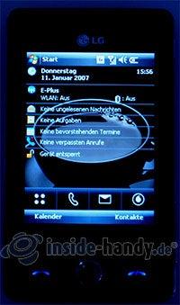 LG Electronics KS20: Beleuchtung