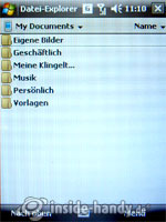 LG Electronics KS20: Dateimanager