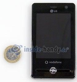 LG Electronics KS20: Größenverhältnis
